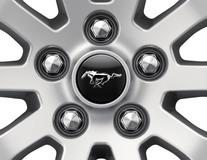Enjoliveur de moyeu Avec logo Mustang